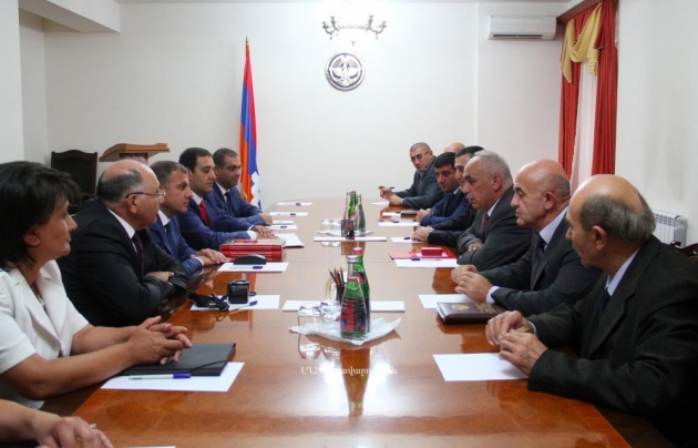 Нагорный Карабах посетила делегация министерства охраны природы Армении