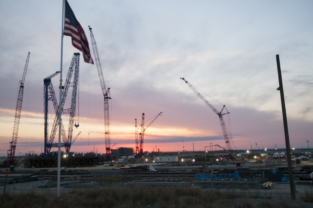 Строительство АЭС «Westinghouse».