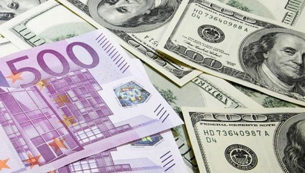 Доллар и Евро.