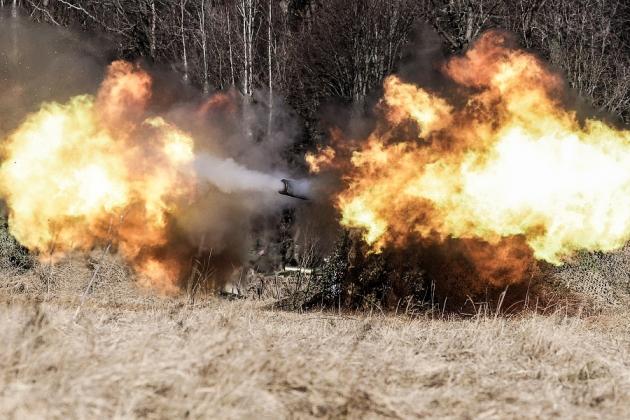 В Калининградской области прошли стрельбы из «Градов»
