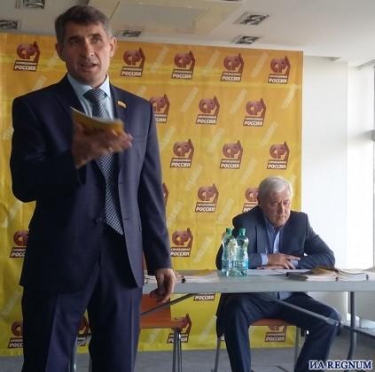 Пресс-конференция Олега Николаева и Анатолия Аксакова в Чебоксарах