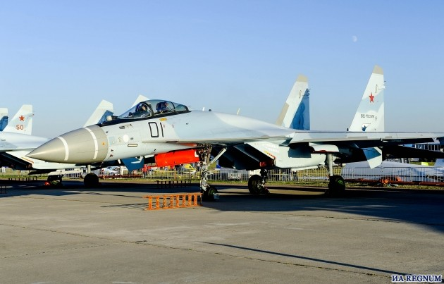 Су-35С – российский многоцелевой тяжёлый истребитель поколения 4++. Самолёт максимально приближен к 5-у поколению, является наиболее современным серийным истребителем России.