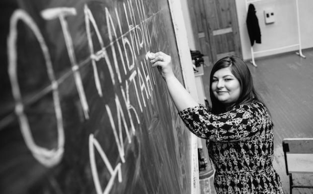 Руководитель проекта «Тотальный диктант» Ольга Ребковец. Фото из личного архива