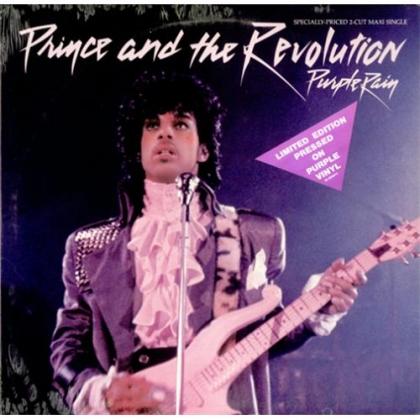 Обложка пластинки сингла Purple Rain.