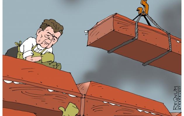 У Порошенко не хотят выносить «гробы» партнеров по коалиции