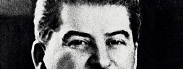 Иосиф Сталин. Фрагмент фотографии.