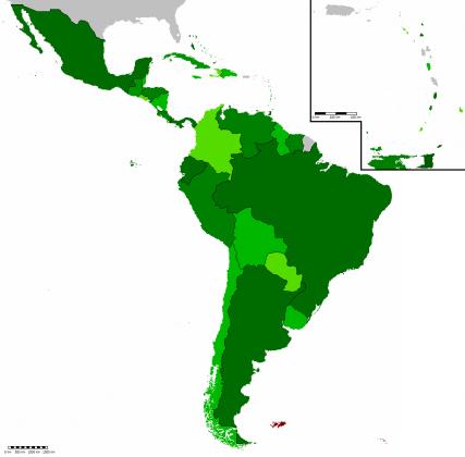 Сообщество стран Латинской Америки и Карибского бассейна (СЕЛАК).