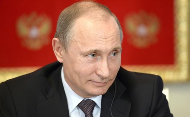 Владимир Путин— президент России.