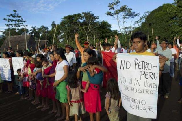 Mассовые протестные акции в перуанской Амазонии