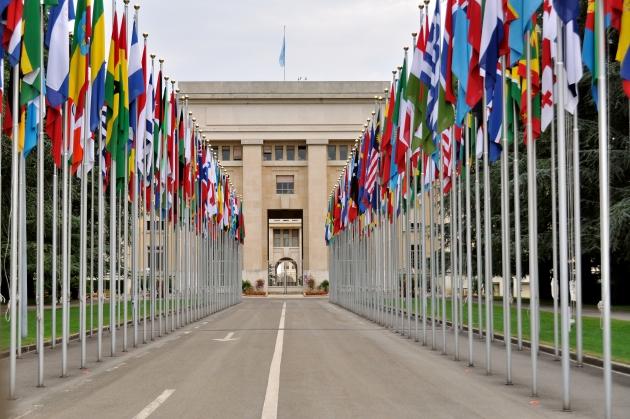 Штаб ООН в Женеве.
