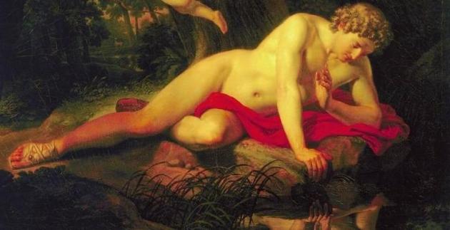 Карл Брюллов. Нарцисс (1819)