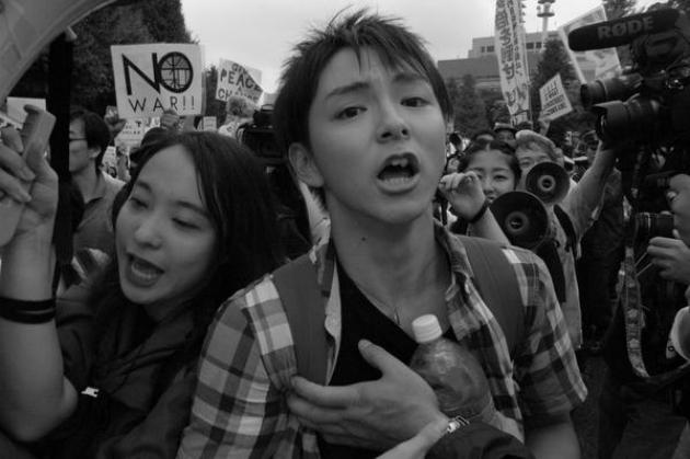 В Японии состоялась акция против использования вооруженных сил за границей