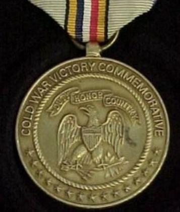 Медаль за участие в Холодной войне.