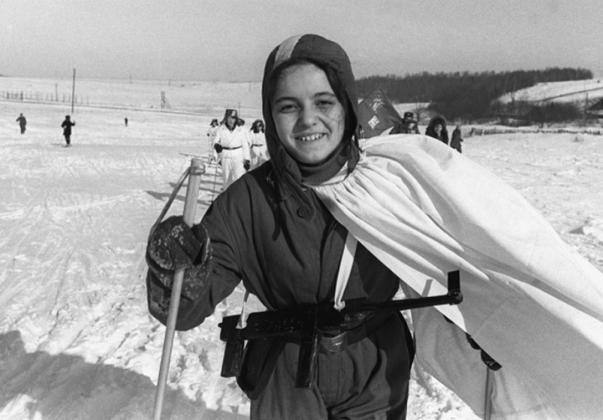Военно-спортивная игра «Зарница» в СССР.