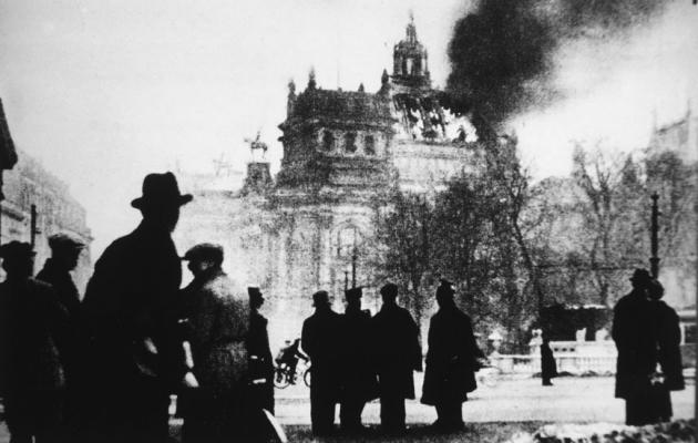 Горящий Рейхстаг, 1933 год.