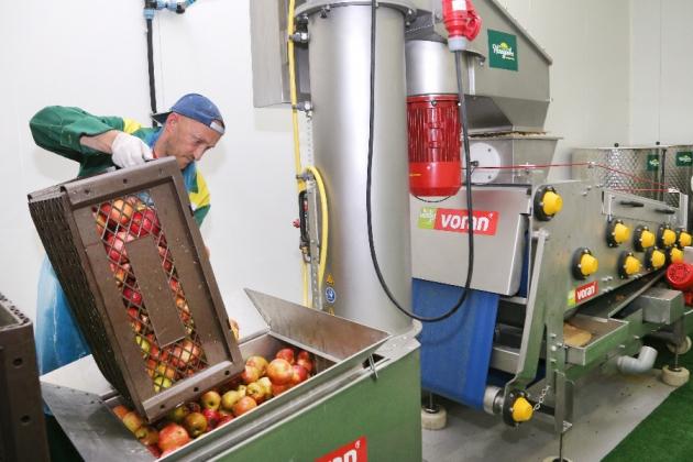Линия про производство соков в Калининграде. Фото: gov39.ru.