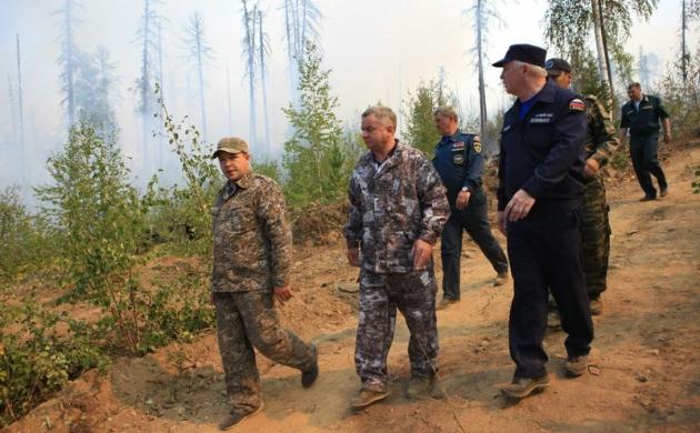В Бурятии стало меньше лесных пожаров