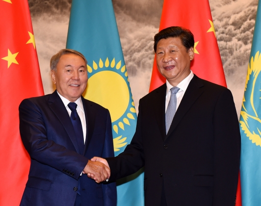 Назарбаев и Цзиньпин договорились о стратегическом сотрудничестве