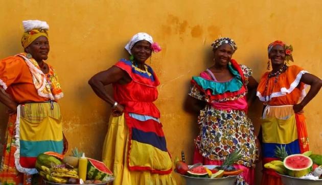 Женщины в Колумбии.