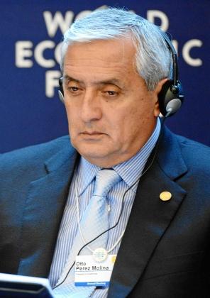 Отто Перес Молина— президент Гватемалы.