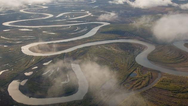 На реке Лена обнаружены нефтяные пятна