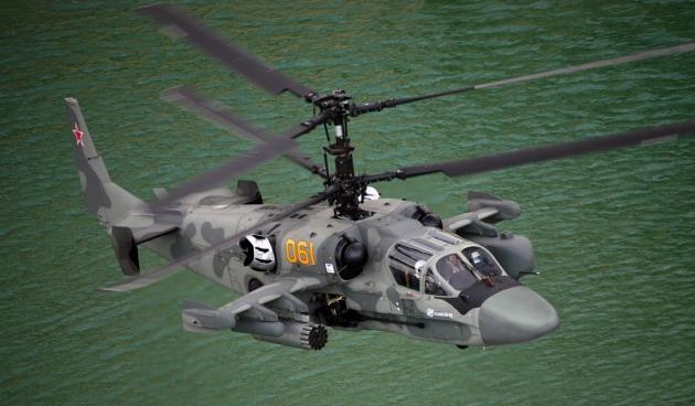 Москва предложит покупателям «Мистралей» вертолеты Ка-52К