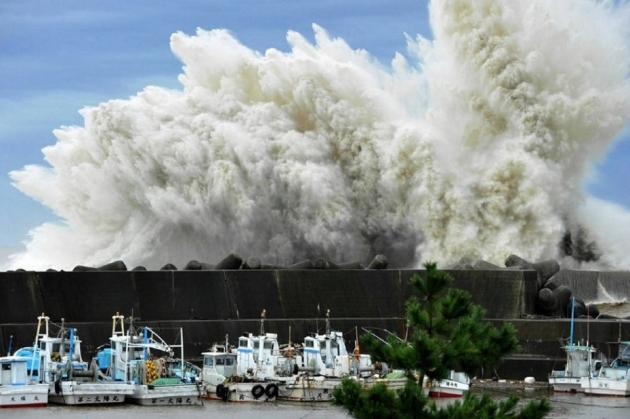 В Приморье от тайфуна «Гони» пострадали более 4 тыс. человек