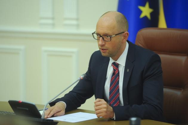 Яценюк готовит предложения по переформатированию Кабмина Украины
