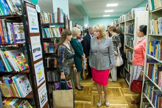В Калуге открылась новая областная детская библиотека.