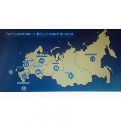 ЦИК утвердил схему одномандатных округов на выборы Госдумы VII созыва
