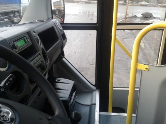 Водитель автобуса.