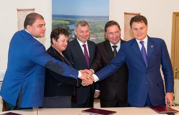 Губернаторы пяти областей договорились в Калуге о сотрудничестве