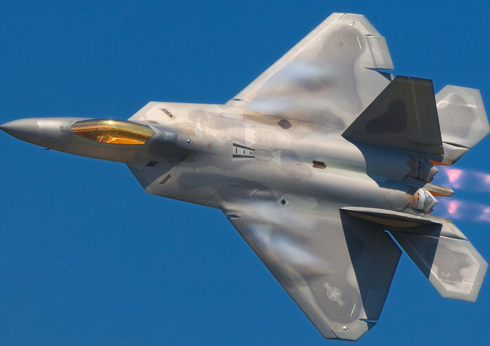 F-22A Raptor.