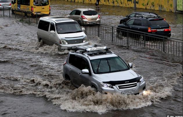 Наводнение в Приморье.