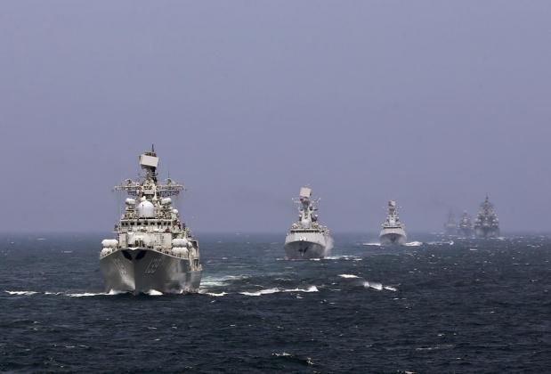 У берегов Аляски замечены военные корабли Китая