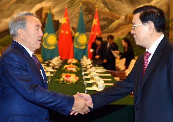 Нурсултан Назарбаев с рабочей поездкой в КНР