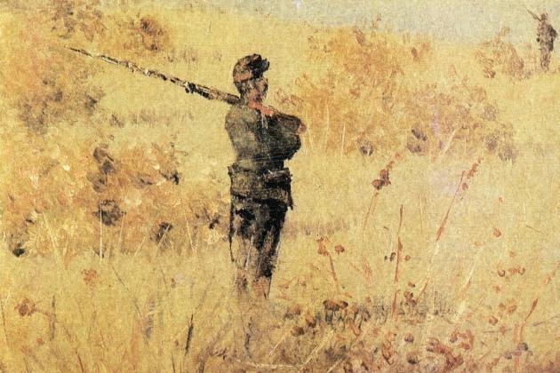 Василий Верещагин. В сторожевой цепи. 1877-1878