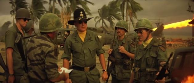 Цитата из х/ф «Апокалипсис сегодня» (реж. Ф.Ф. Коппола, 1979)
