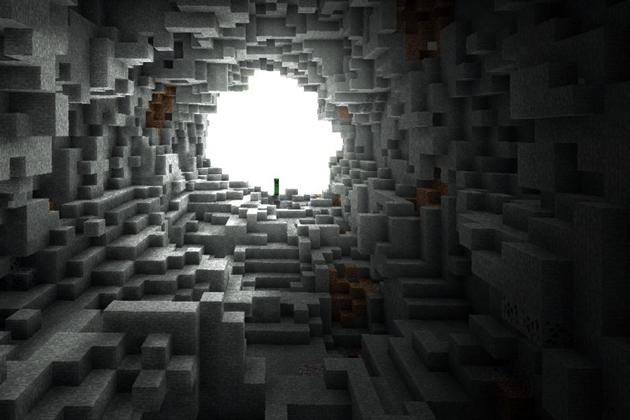 Выход из туннеля.