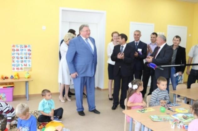 Глава Мордовии открыл новый детский сад в Краснослободском районе