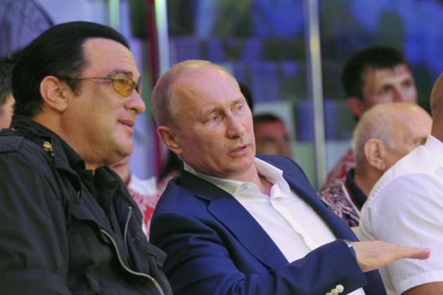 Путину предложили встретиться на ринге со Стивеном Сигалом