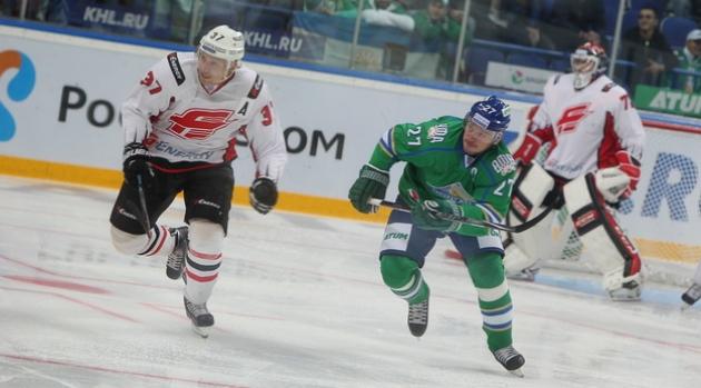 «Авангард» обыграл «Салават Юлаев» в матче КХЛ