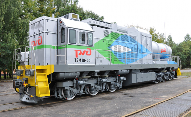 Брянский машиностроительный завод выпустил первый в мире газотепловоз