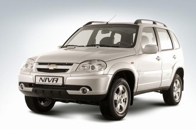 В России подняли цены на Chevrolet Niva