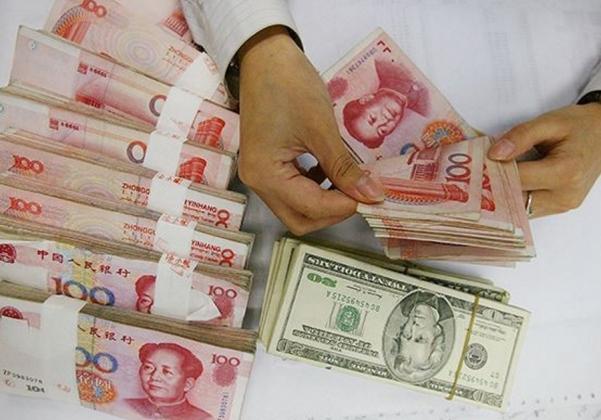 Займы в юанях.