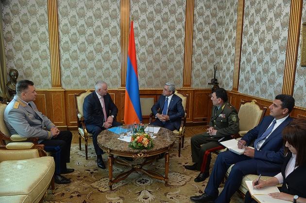 © Пресс-служба президента Армении