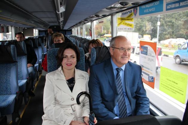 Об истории подмосковного Одинцово можно узнать, сев в автобус