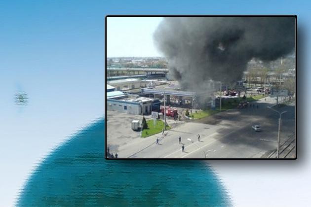 Взрыв у мечети в Ташкенте.