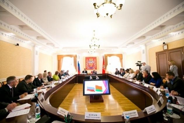 Совещание по вопросам развития торгово-экономического сотрудничества оренбуржской области Российской Федерации и Республики Беларусь.