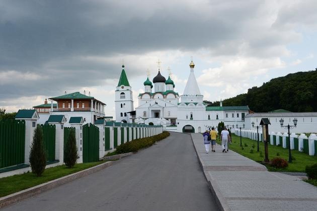 Вознесенский  Печерский монастырь.